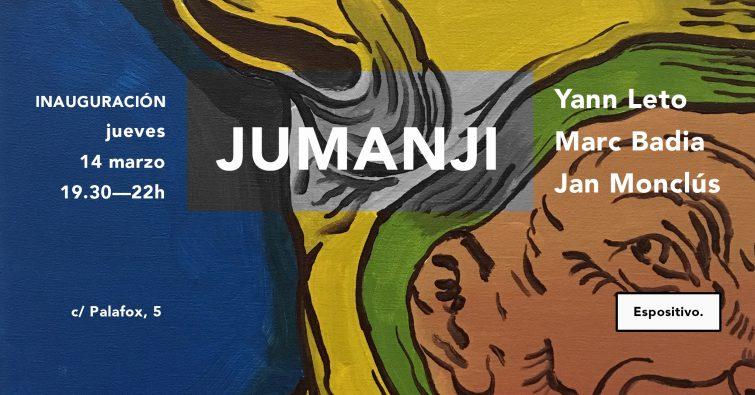 JUMANJI - Marc Badia, Yann Leto y Jan Monclus